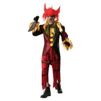 Halloween Crazy Clown Adult Costume