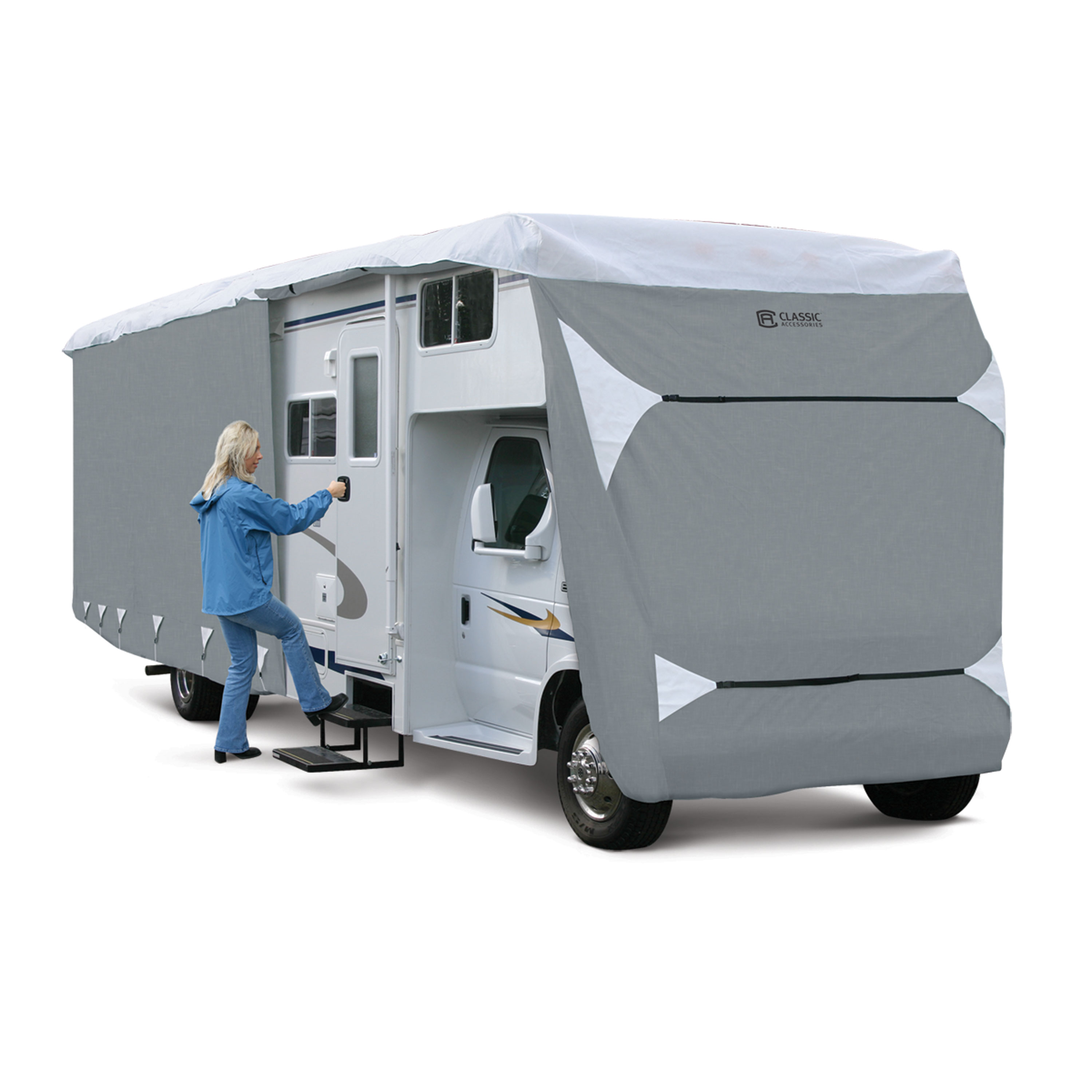 """Arctic Blue Product 80-344 Rv Cover Class C 32'-35' X 125"""""""