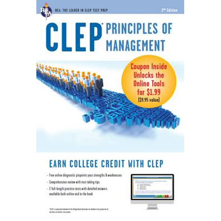 CLEP Principles of Management with Online Practice Exams - eBook