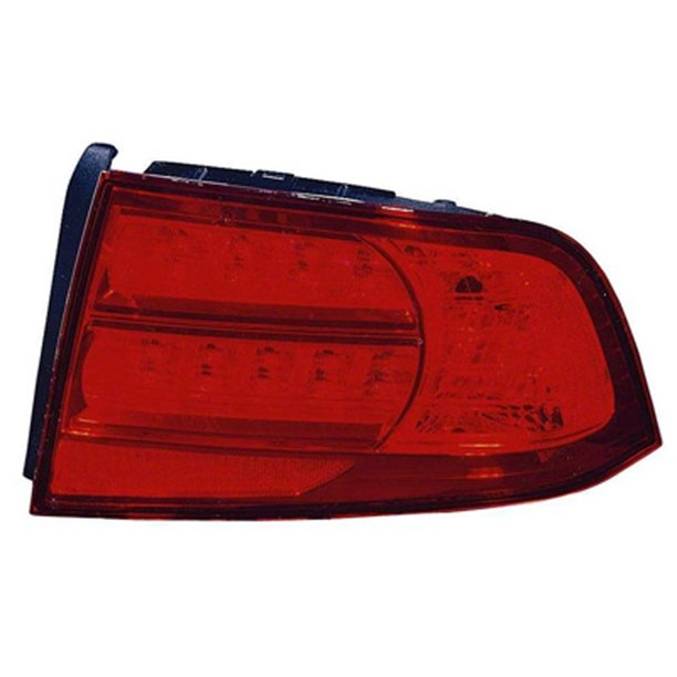 Aftermarket 2004-2006 Acura TL Passenger Side Right Tail