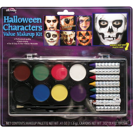 face painting makeup kit adult halloween accessory