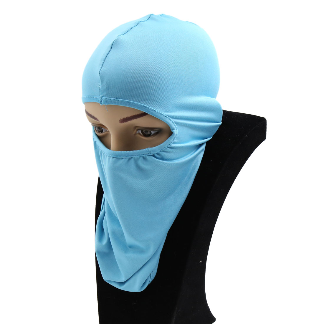 Blue Unisex Motorcycle Bike Cycling Outdoor Anti-dust Sun Full Face Mask