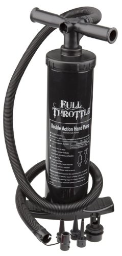 Click here to buy Full Throttle 2 Hand Air Pump Double Action Univ Adaptors, 310100-700-999-1 by Full Throttle.