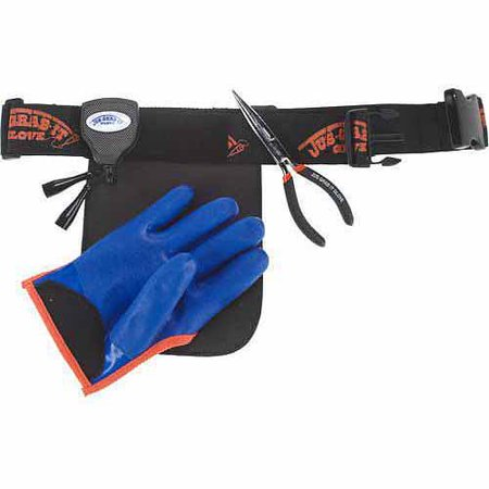 Just Grab It Glove Right Hand Large Glove Belt Pliers