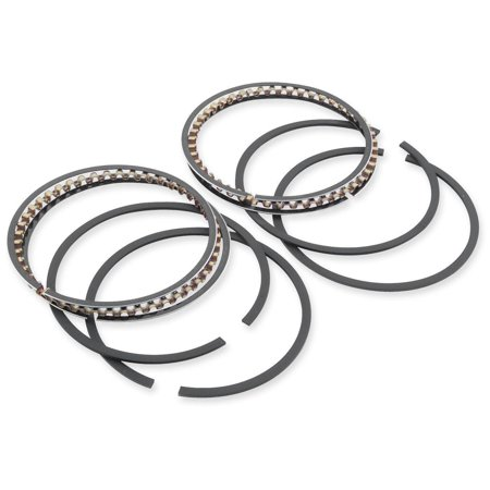 Hastings 2M5721040 Moly Ring Set (3 5/8in. Big Bore KB Pistons) -  - .040in. Oversize (Moly Ring Set)