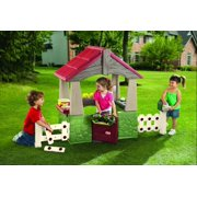 Little Tikes Home & Garden Kids Indoor/Outdoor Pretend Playhouse | 615894