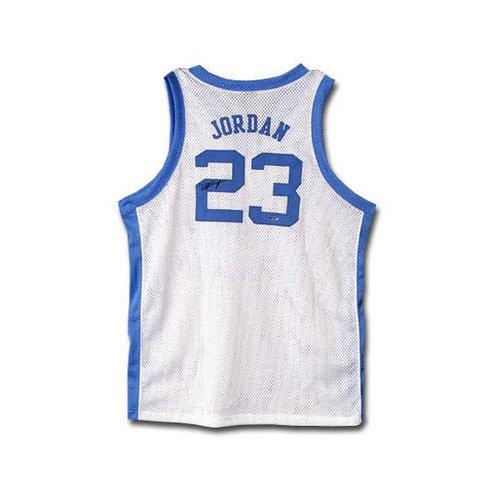 NCAA - Michael Jordan North Carolina Tar Heels Autographed White Jersey