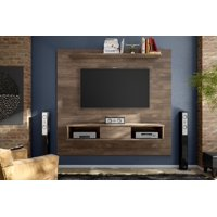 Midtown Concept Omaha 2-Shelf TV-Board (Up to 70inch TVs) - Multiple Finishes