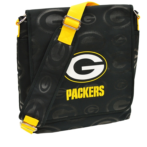 NFL Diaper Bag by Lil Fan, Messenger Style - Green Bay Packers