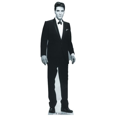 Life Size Elvis Cutout (Star Cutouts Elvis Presley Tuxedo Cardboard Cutout Life Size)