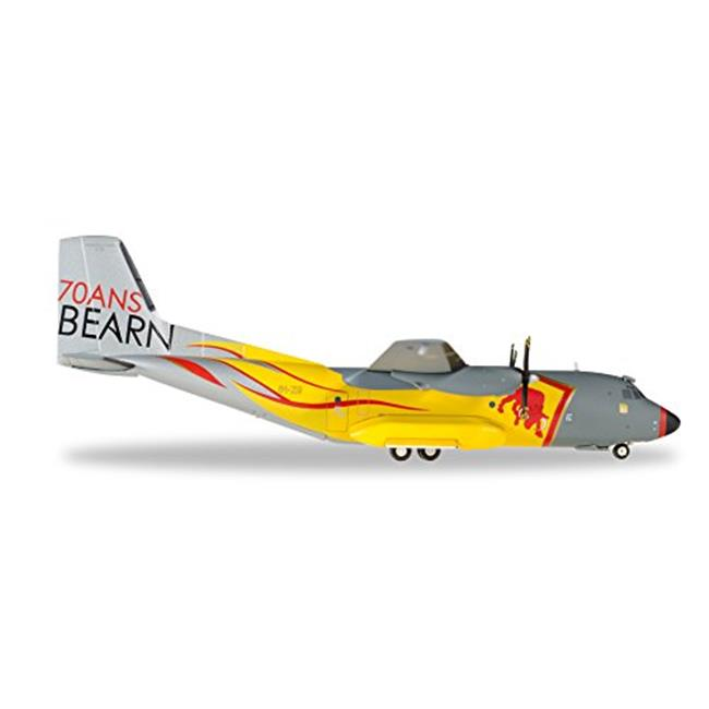Herpa 1-200 Scale Military E557955 French Air Force Transall C-160 Bearn Anjou 70th, 1-200 by Herpa 1 200 Scale Military