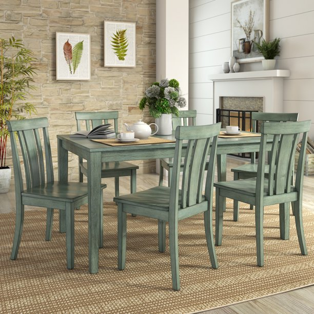 Lexington Large Wood Dining Set With 6, Used Lexington Dining Room Furniture
