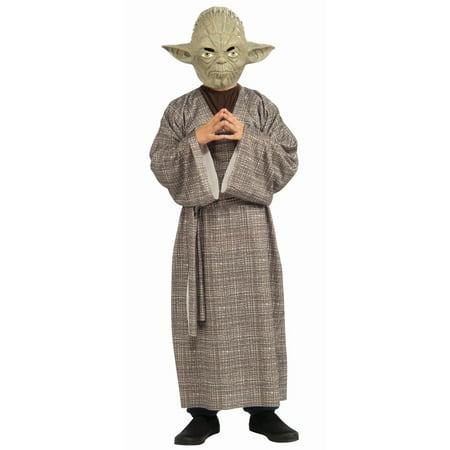 Star Wars Yoda Deluxe Child Halloween Costume](Start Wars Costumes)