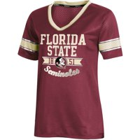 Women's Russell Athletic Garnet Florida State Seminoles Fashion Jersey V-Neck T-Shirt