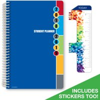 product image 2018 2019 student planner 55x85high school or middle school