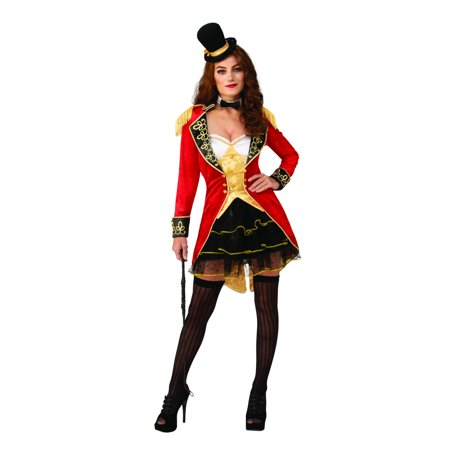 Super Deluxe Womens Sexy Ringmaster Costume (Ringmaster Costume For Men)