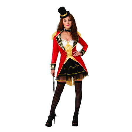 Super Deluxe Womens Sexy Ringmaster Costume - Ringmaster Costume Women