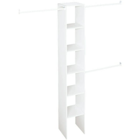 "Closetmaid Vertical Closet Organizer, 12"", White"