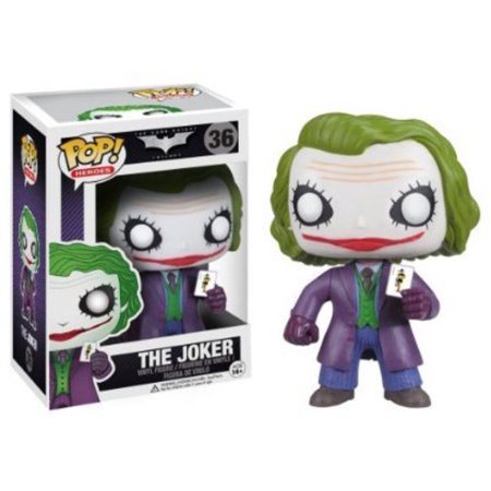 FUNKO POP! HEROES: DARK KNIGHT MOVIE - THE JOKER](Dark Night Joker)