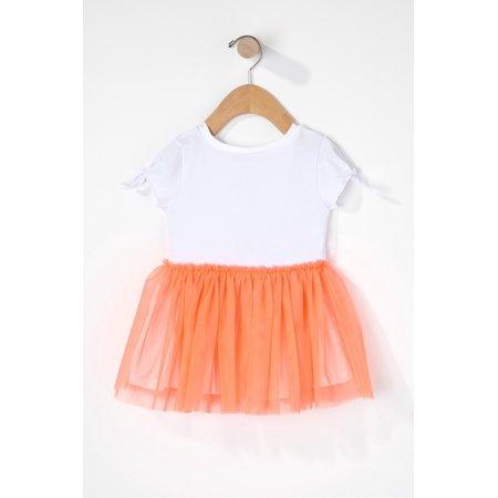 Urban Kids Baby Girl Tutu Short Sleeve Dress - image 1 of 2