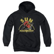 Sun Records Rocking Rooster Big Boys Pullover Hoodie