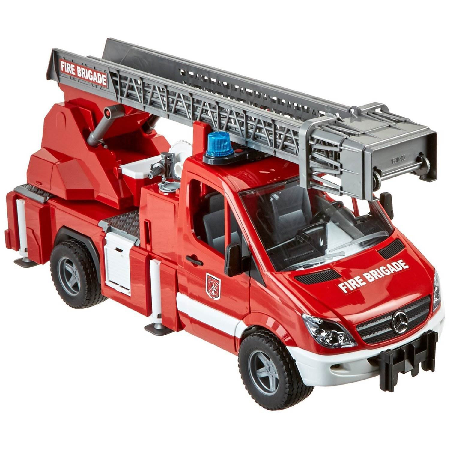 Bruder Toys Mercedes Benz Sprinter Fire Engine With Ladder