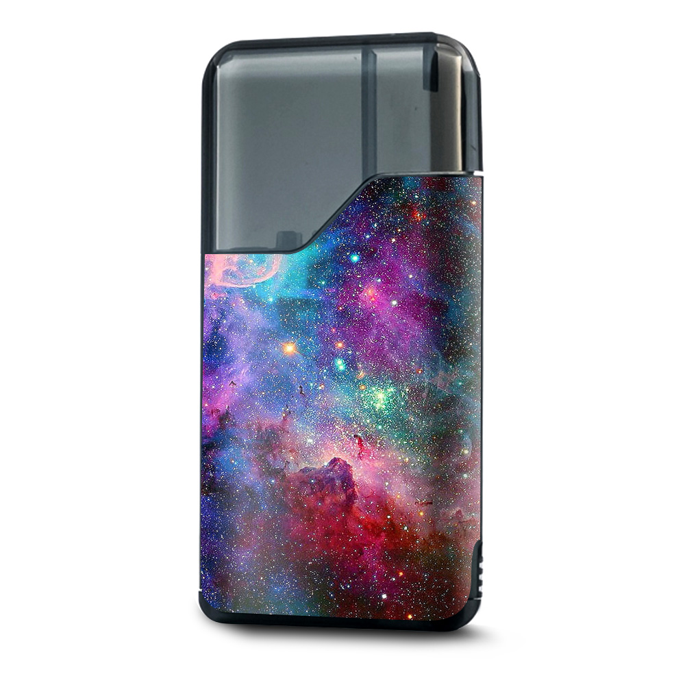 Skin Decal Vinyl Wrap for Suorin Air Kit Vape skins stickers cover/ Colorful Space Gasses
