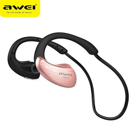7db9ba5abca Bluetooth Headphones AWEI A885BL Wireless Bluetooth V4.1 Stereo Smart Sports  Bass Earphones Wireless Noise