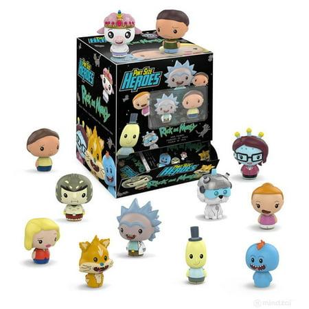 "Rick and Morty Blind Box 1.5"" Funko Pint Size Heroes Figure, One Random - image 1 de 1"