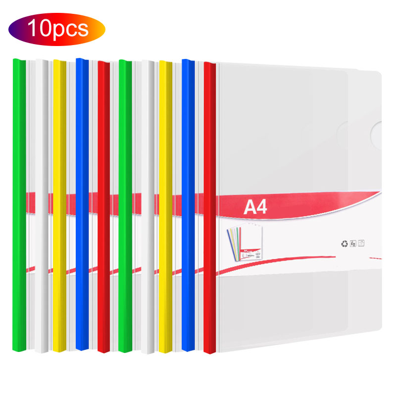 transparent folder 10pcs resume presentation file folders
