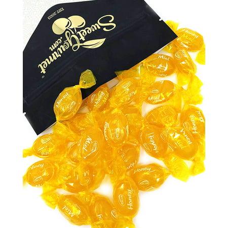 SweetGourmet Honey Filled Hard Candy | Premium Bulk Candies | Soft Honey Center | 2 Pounds
