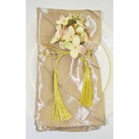 """Wedding Linens Inc. 10 pcs 20""""x 20"""" Premium Pintuck Taffeta Table Linen Napkins for Party Wedding Reception Catering Dining Home Restaurants - Champagne"""