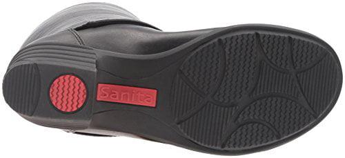 Sanita Women's Icon-Celebrity Harness Boot, Black, Size 9.0