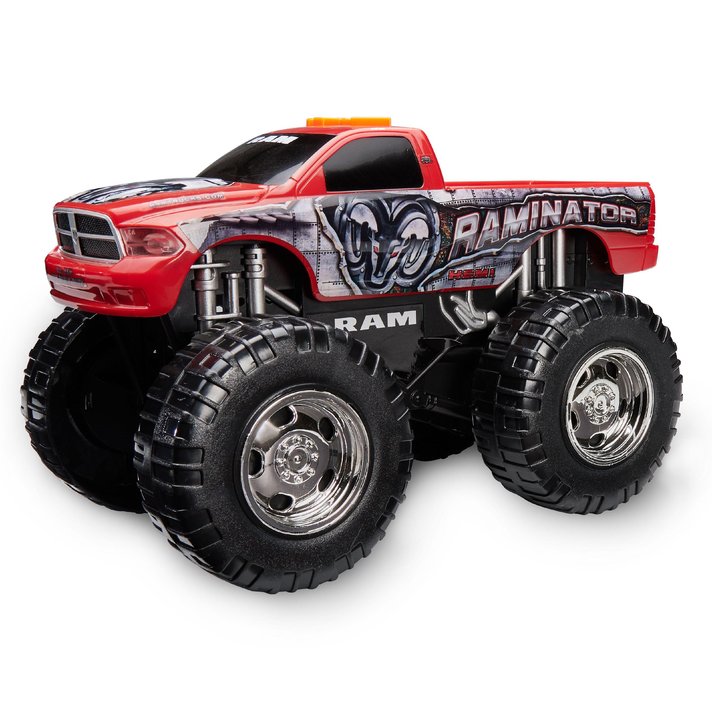 Adventure Wheels Wheel Standers Motorized Vehicle, Raminator, Red