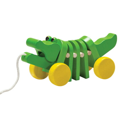 Alligator Pull Toy (PlanToys Dancing Alligator Pull-Along Toy)
