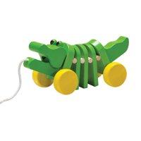 PlanToys Dancing Alligator Pull-Along Toy