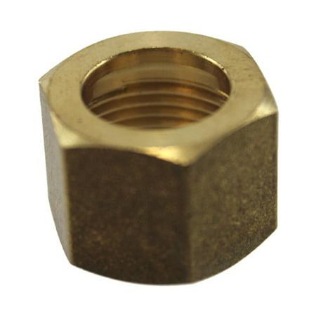 "5/8"" Brass Compression Nut"