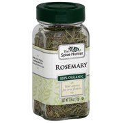 The Spice Hunter 100% Organic Rosemary, 0.6 oz, (Pack of 6)