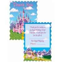 Ddi Princess Party Thank You Notes (pack Of 72)