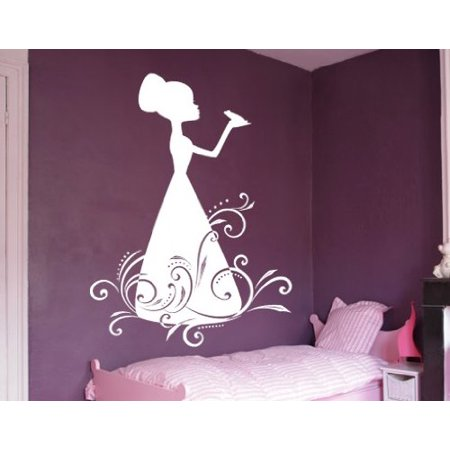 The Princess and the Frog Wall Decal Wall Sticker Vinyl Wall Art Home