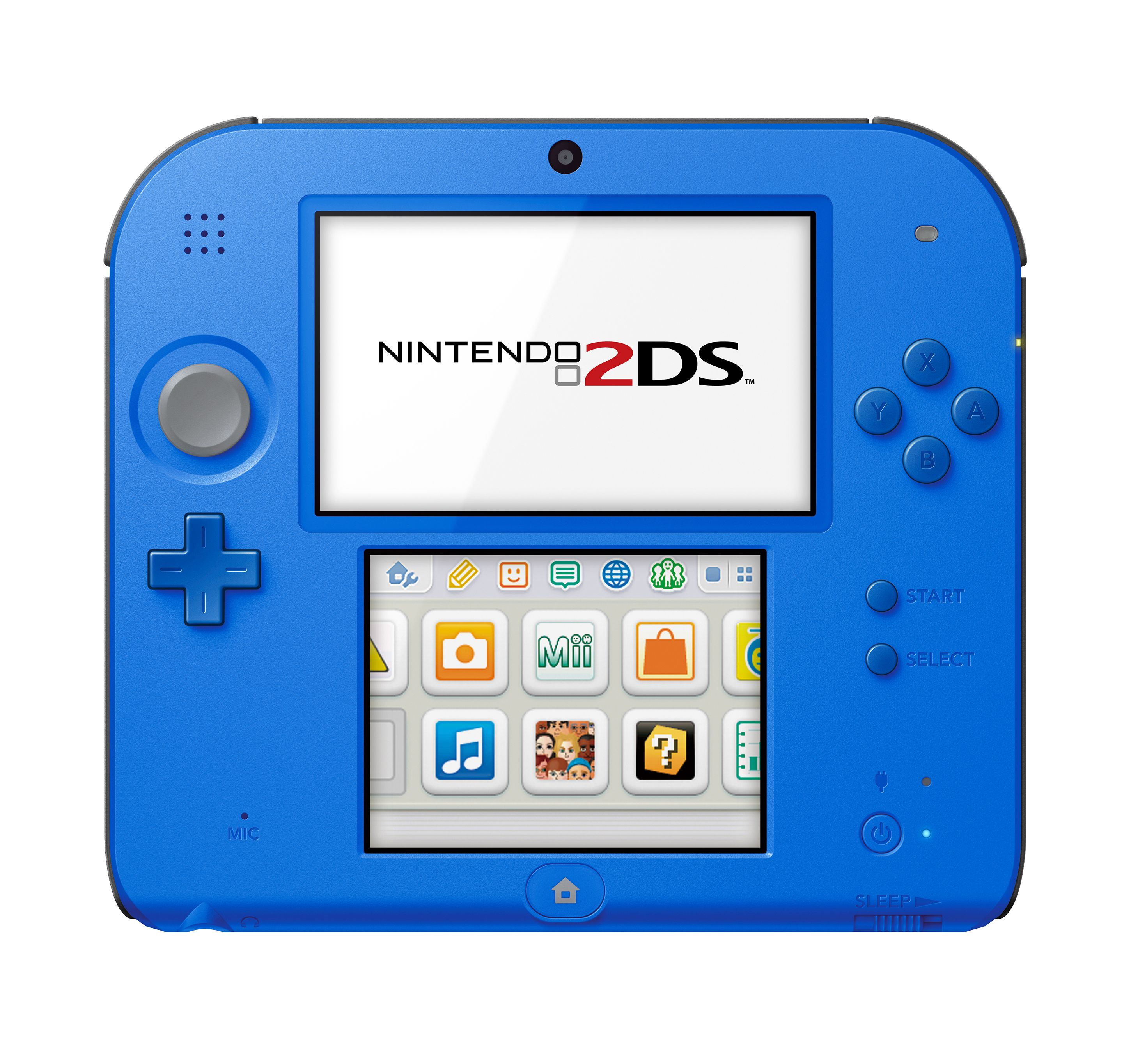 Nintendo 2DS System with New Super Mario 2, Blue, FTRSBCDV by Nintendo