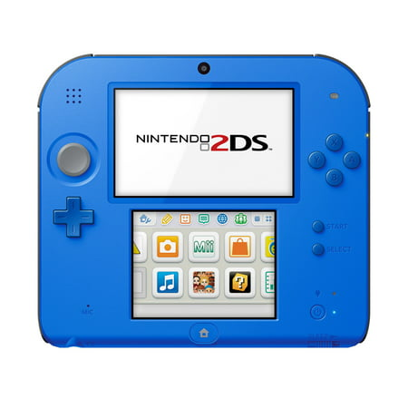Nintendo 2DS System with New Super Mario 2, Blue