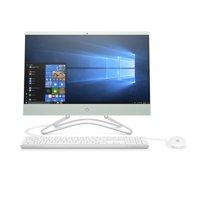 "Refurbished HP 22-c0073w AIO 21.5"" FHD Celeron G4900T 2.9GHz 4GB RAM 1TB HDD Win 10 Home White/Green"