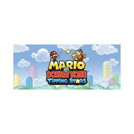 Mario vs. Donkey Kong Tipping Stars, Nintendo, WIIU, [Digital Download], (Mario Vs Donkey Kong Mario Toy Company)