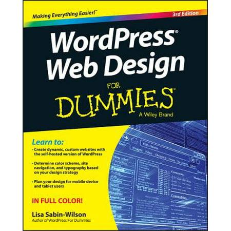 Wordpress Web Design for Dummies (Color Book For Web Design)