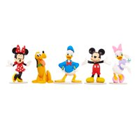 Disney Mickey Mouse Collectible Figure Set - 5 Pieces