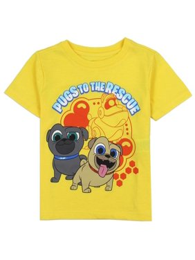98d4cde89c Product Image Disney Puppy Dog Pals Toddler Boys' T-Shirt In Yellow, Grey  and Blue