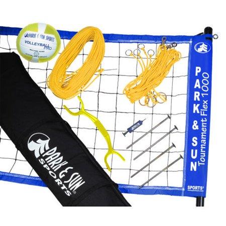 Park & Sun Tournament Flex 1000 Volleyball Set