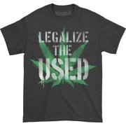 Used Men's  Legalize The Used T-shirt Black