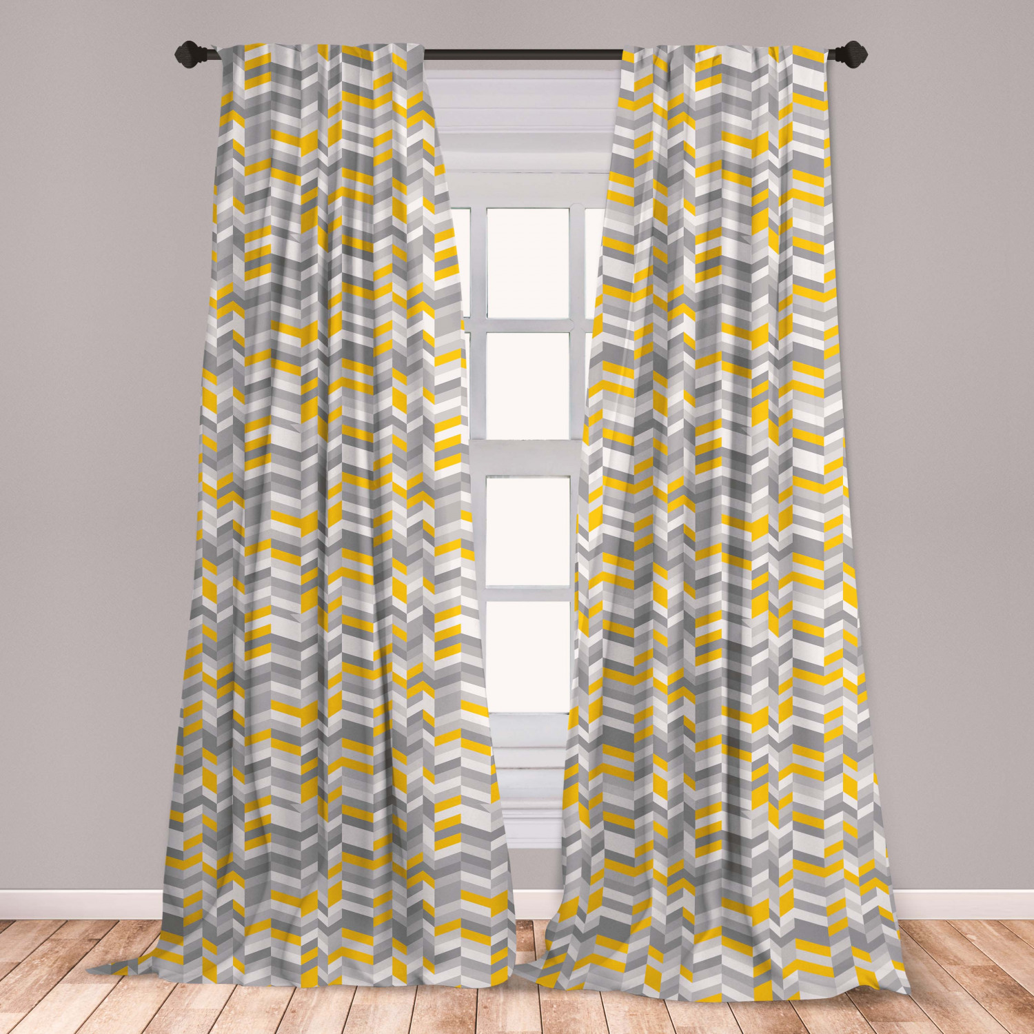 Cartoon Yellow Curtain One Piece Curtains Bedroom For Home Decor Livi Koalabedding